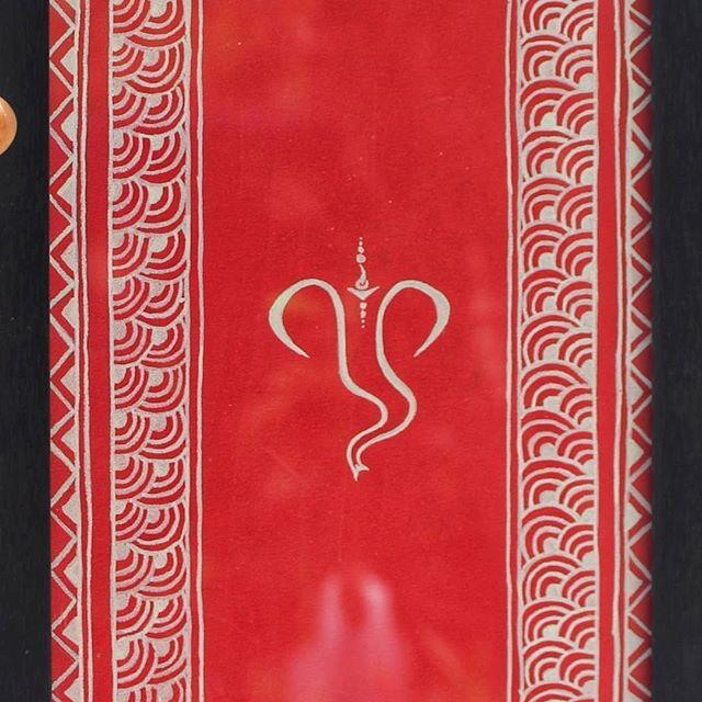 Rangoli Pattern - Rajasthan, the Mandana are painted on walls.