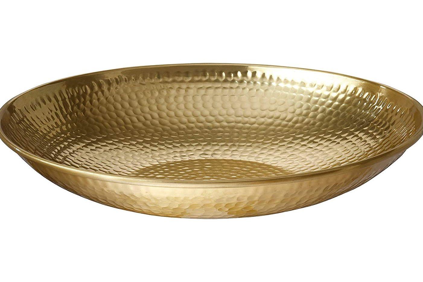 Ikea VAGSJON Bowl, Gold-Colour