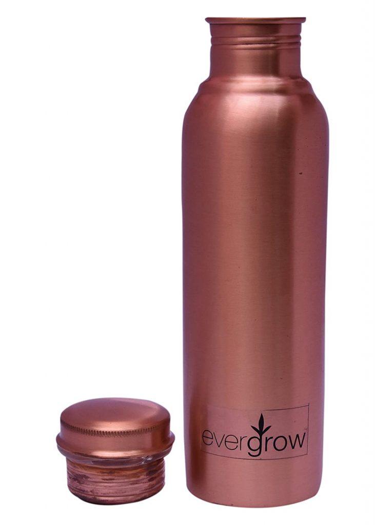 EVERGROW Leak Proof Copper Bottles