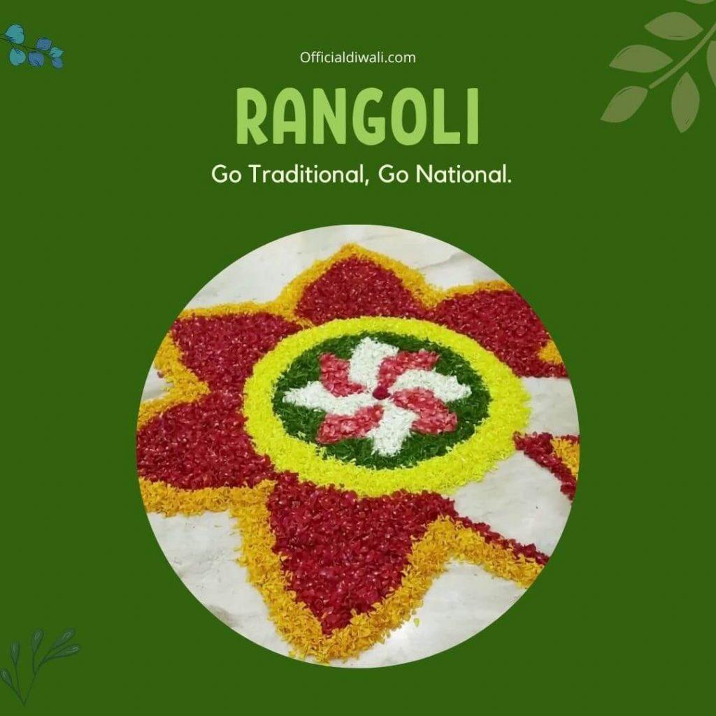 Rangoli… Go Traditional, Go National - Officialdiwali.com
