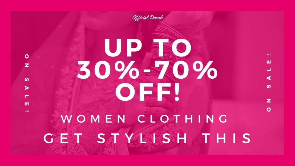 Discount on Women Clothing – OFFICIALDIWALI.COM