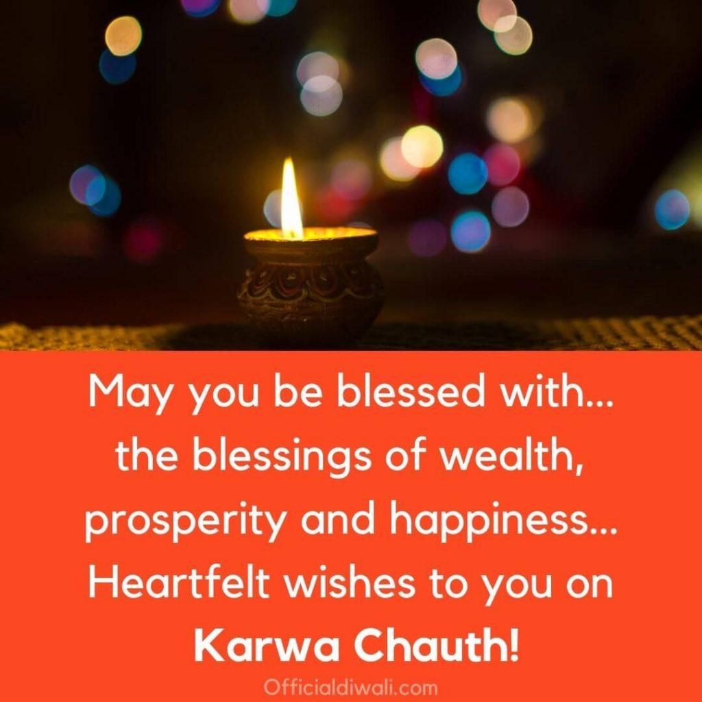 Heartfelt wishes to you on Karwa Chauth officialdiwali.com