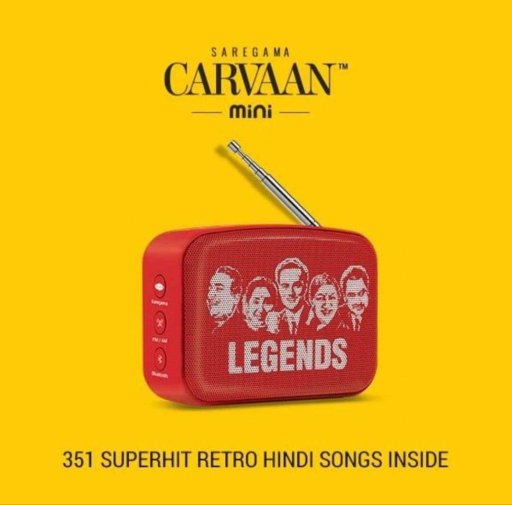 Saregama Carvaan Mini 2.0- Music Player with BluetoothFMAMAUX